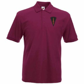 59 Commando Embroidered Polo Shirt